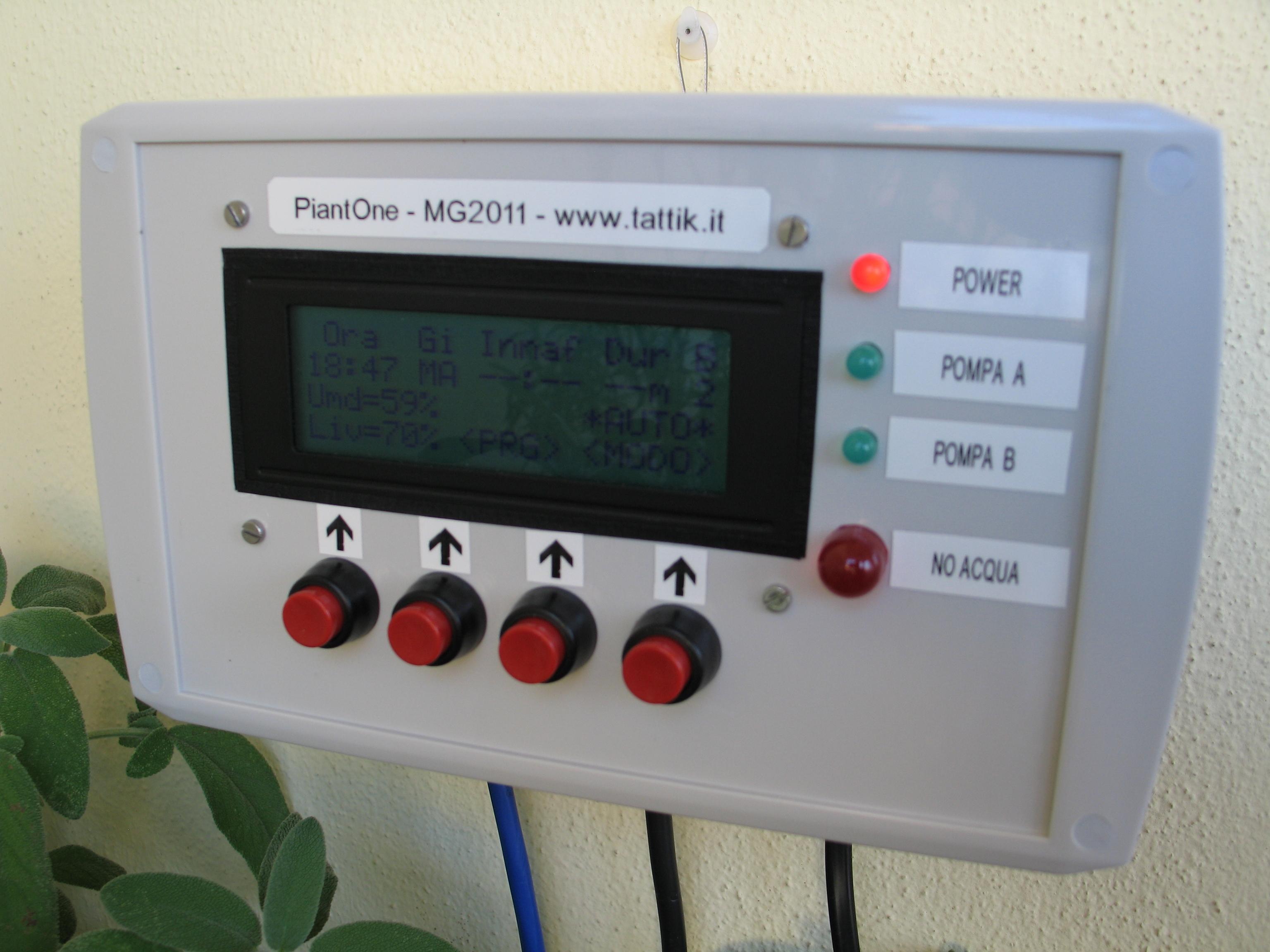 Tattik elettronica e dintorni - Centralina acqua per casa ...